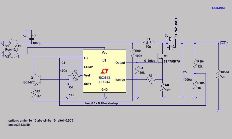 10/30/50/100W LED application driver (UC3843A) - #360customs