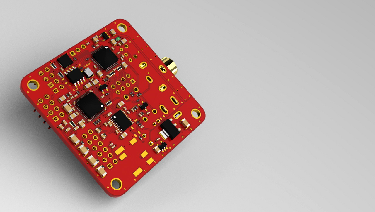 DSP-Board SigmaDSP ADAU1701/1401A SRC4382 PCM5102A – #360customs