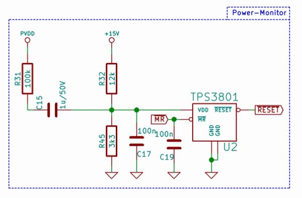 TPS3801 EVM