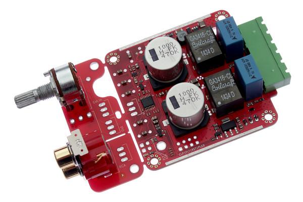 TPA3251D2 60x60mm PCB #1