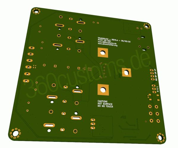 TPA3251D2 Rev 0.A Back