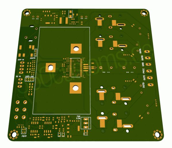 TPA3251D2 Rev 0.A Front