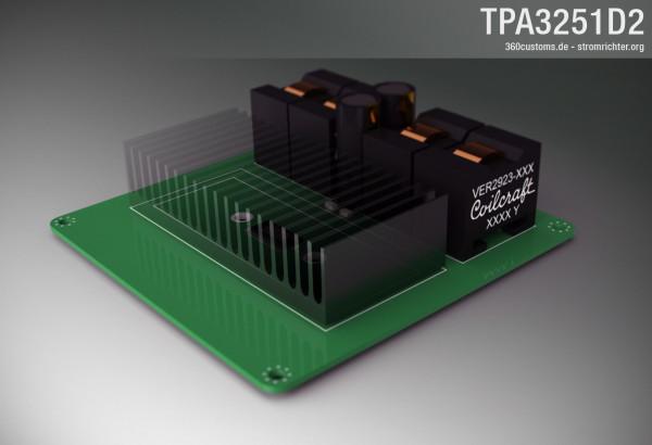 TPA3251D2 Mockup