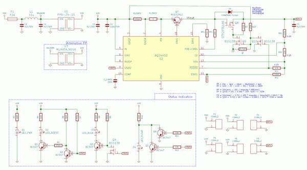 BQ24450 REV 0.A Schematic