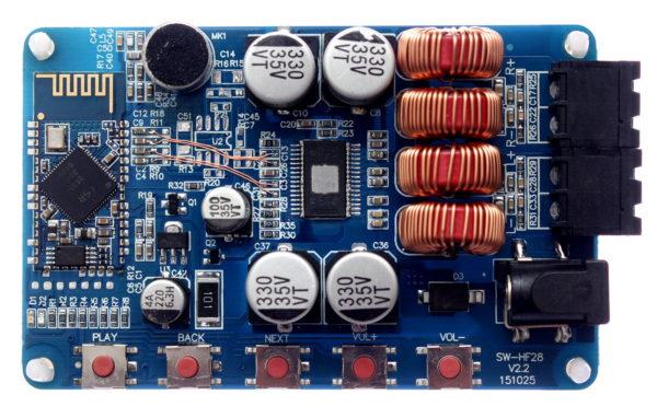 Sanwu TPA3116 CSR8635 Noisefix